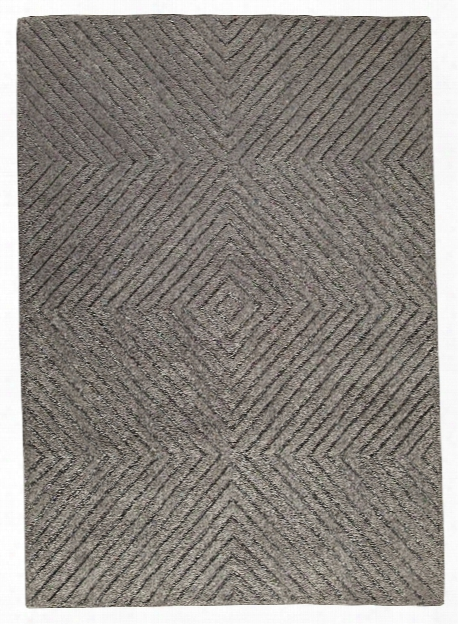Union Square Collection Hand Tufted Wool Rug In Grey Design By Mat The Basics