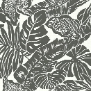 Valdivian Wallpaper in Black from the Ashford Whites Collection by York Wallcoverings