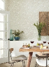 Valdivian Wallpaper in Silver from the Ashford Whites Collection by York Wallcoverings