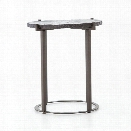 Whistler End Table in Burnish Bronze Iron