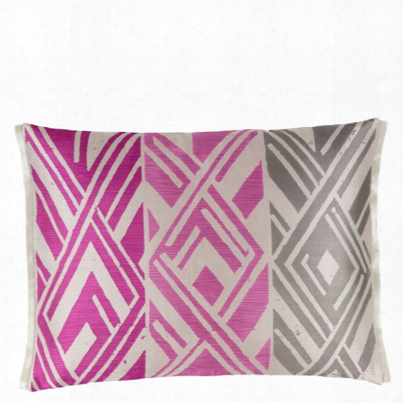 Valbonella Fuchsia Decorative Pillow Design By Designers Guild
