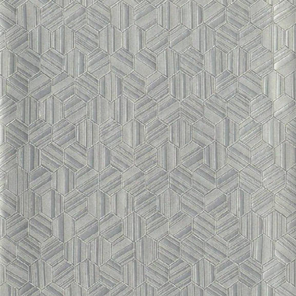 Vanguard Wallpaper In Grey By Candice Olson For York Wallocverings
