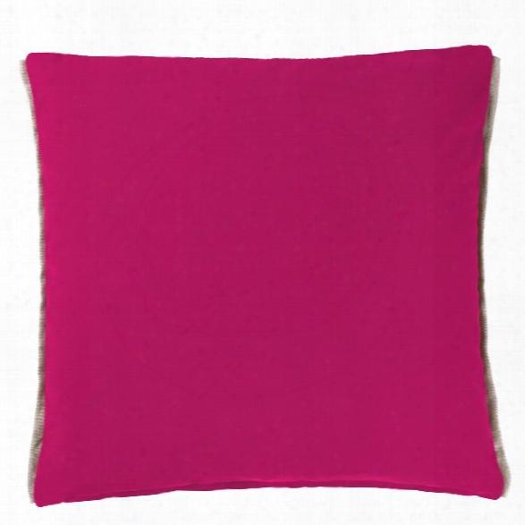 Varese Magenta Decorative Pillow Design By Designers Guild