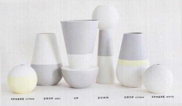 Versa Vase In Various Shapes & Colors Design By Hawkins New York