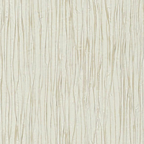 Vertical Fabric Wallpaper In Off White And Neutrals Design By York Wallcoverings