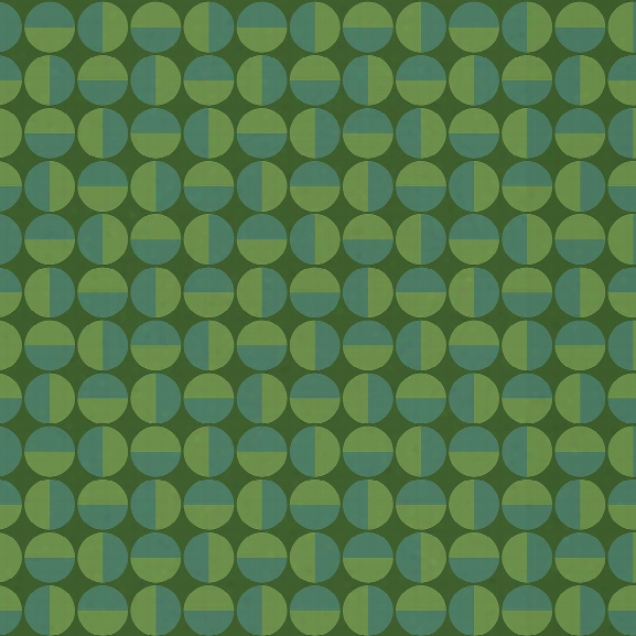 Vertigo Green Geometric Wallpaper From The Scandinavian Designers Ii Collection By Brewster