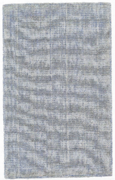 Vibrant Collection Hand Loomed Cotton & Art Silk Area Rug In Azure Design By Bd Fine