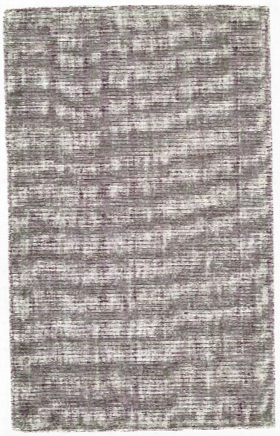 Vibrant Collection Hand Loomed Cotton & Art Silk Area Rug In Plum Design By Bd Fine