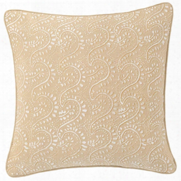 Vita Linen Semolina Decorative Pillow Design By Luxe