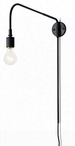 Warren Wall Lamp In Black Design By Menu
