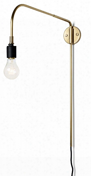 Warren Wall Lamp In Brass Design By Menu