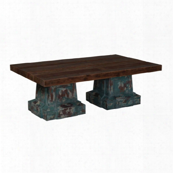 Waterfront Cocktail Table Design By Burke Decor Home