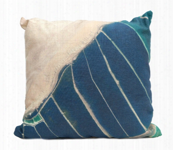 Waterland Throw Pillow By Elise Flashman