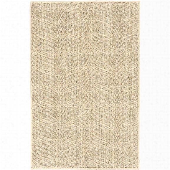 Wave Sand Woven Sisal Rug By Dash Albert