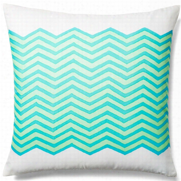 Waves Sky Outdoor Pillow Design By Allem Studio