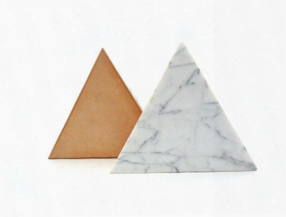 White Marble Trivet In Various Shapes By Fs Objects