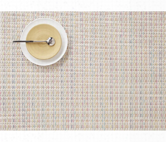 Wicker Table Mat In Sugar Design By Chilewich