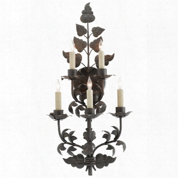 Willow Wall Sconce Design By Currey & Company