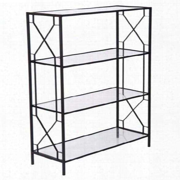 Wilton Shelf W/ Glass Shelves Design By Emissary