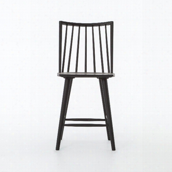 Windsor Counter Stool In Black Oak Design By Bd Studio
