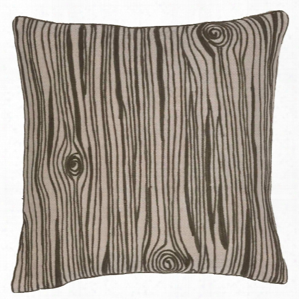 Wood Grain Indoor/outdoor Pillow Design By Fresh American
