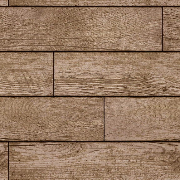 Wood Planks Self Adhesive Wallpaper In Light Chestnut Design By Tempaper