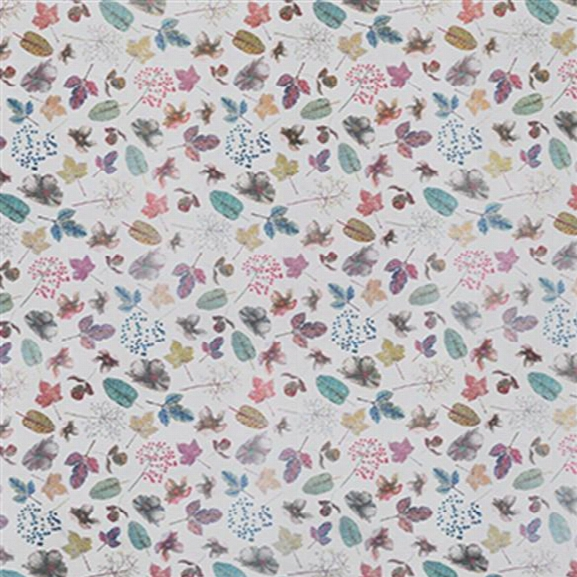 Woodland Sheer Fabric In Purples From The Enchanted Gardens Collection By Osborne & Little