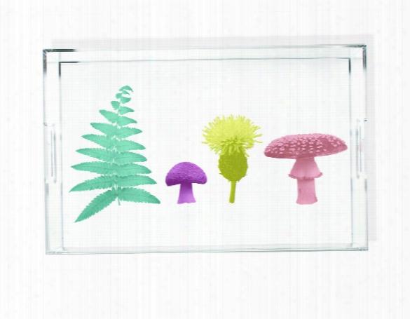 Woodland Wonder Nature Scene Acrylic Tray Design By Imm Living