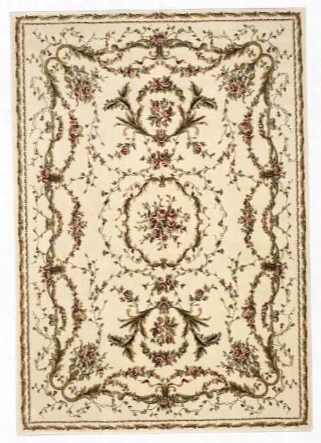 Bordeaux Rug In Ivory Design By Nourison