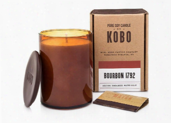 Bourbon 1792 Andle Design By Kobo Candles