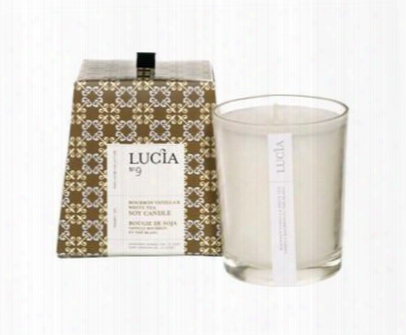 Bourbon Vanilla & White Tea Candle Design By Lucia