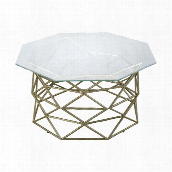 Bracelet Angular Coffee Table Design By Lazy Susan