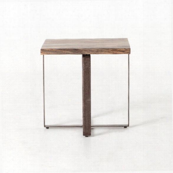Brant Side Table In Spalted Primavera