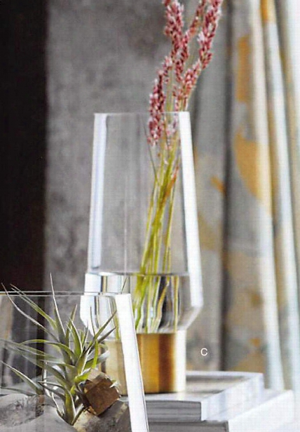 Brass Cuff Vases Design By Roost
