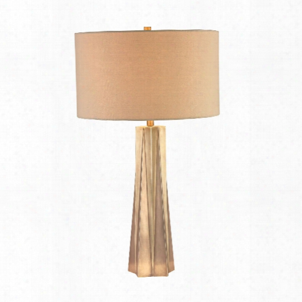Brass Finish Origami Lamp Design By Lazy Susan