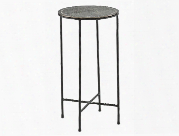 Brett Drinks Table In Black Design By Currey & Company