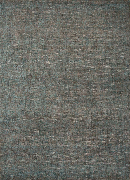 Britta Plus Rug In Coriander & Lake Blue Design By Jaipur