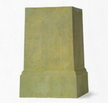 Brpnzage Square Pedestal Design By Capital Garden Products