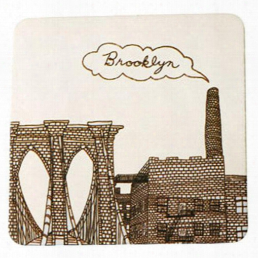 Brooklyn Coasters Set Of 10 Design By Fishs Eddy