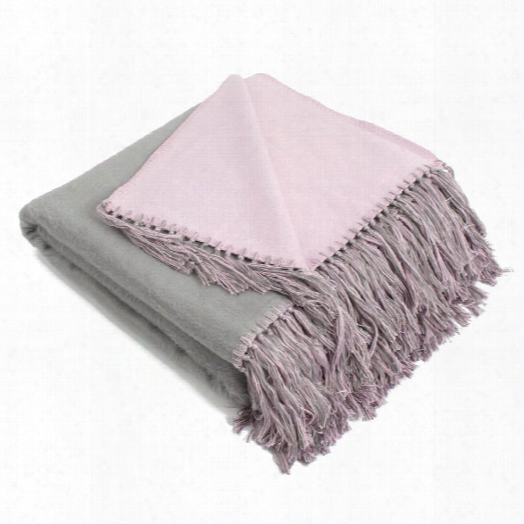 Brushed Bamboo Viscose Bi-color Throws Design By Igh
