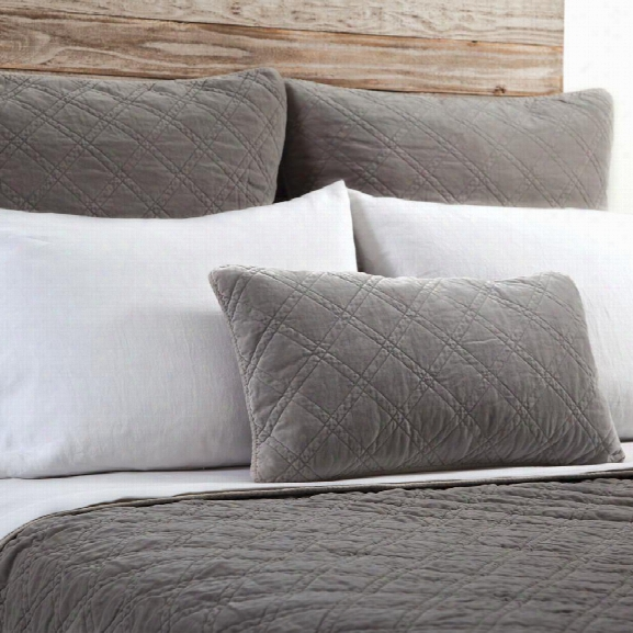 Brussels Bedding In Pewter Design By Pom Pom At Home