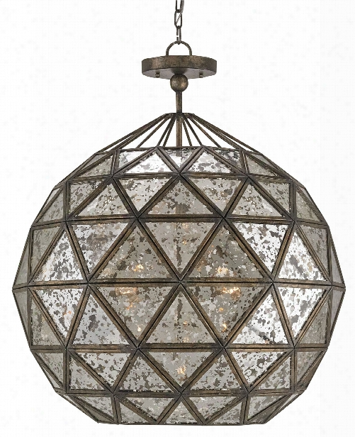Buckminster Chandelier Design By Currey & Company