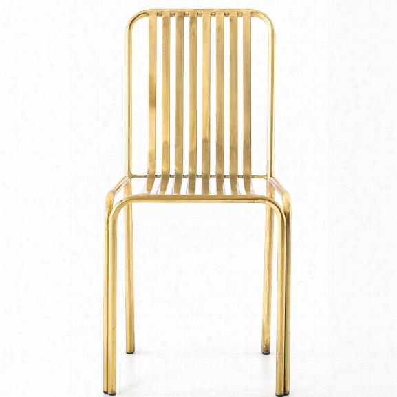 Cade Chair In Antique Brass Design By Bd Studio