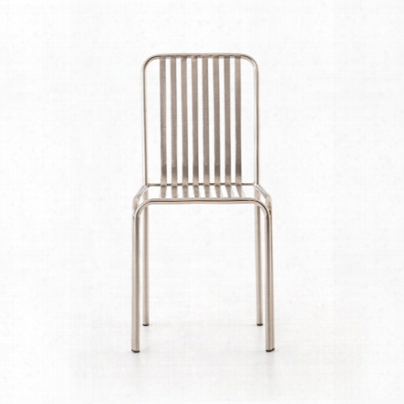 Cade Dining Chair In Pewter