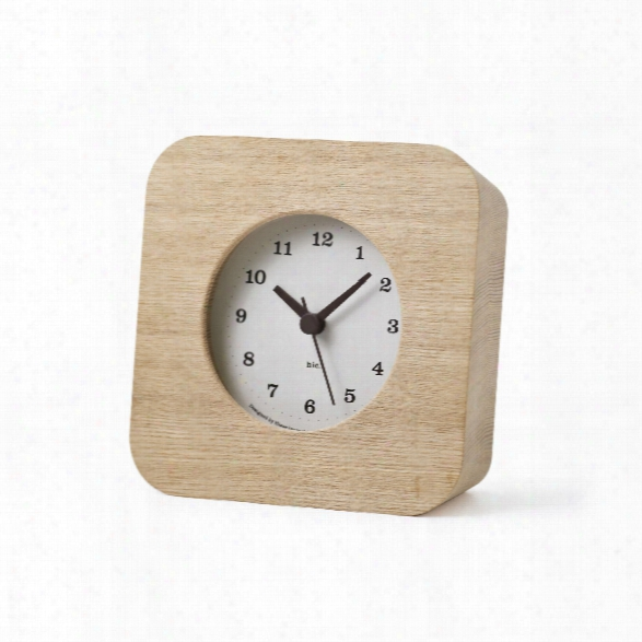 Cake Clock In White Design By Lemnos
