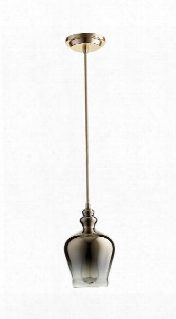 Calista Pendant In Satin Gold Design By Cyan Design