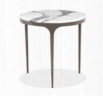 Camilla Arabescato Side Table Design By Interlude Home