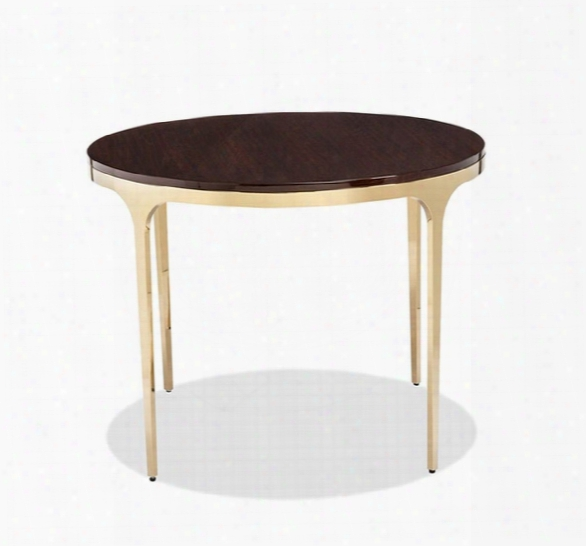 Camilla Center/ Dining Table In Figured Eucalyptus Design By Interlude Home