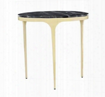 Camilla Nero Storm Side Table Design By Interlude Home