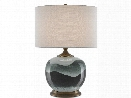 Boreal Table Lamp in Green design by Currey & Company